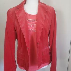 Vintage Lined Velour Jacket